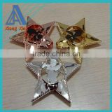 Fashion metal iron Christmas led lamp star decoration