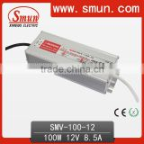 100W 12V Switched Power Supply For LED Strips SMV-100-12