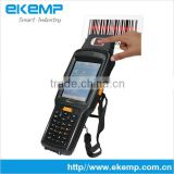 1D/2D Barcode Scanner Handheld Device PDA(X6) with MRZ OCR Scanner in Passport or Certificates