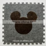 Factory wholesale baby cheap carpet floor mat interlocking eva foam mat carpet