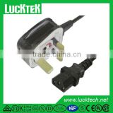 uk mains power extension lead