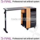 Nail Salon manicure Table, modern nail salon furniture, manicure table vacuum and nail salon furniture