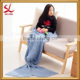 Warm and Soft All Seasons Mermaid Blanket for Adults And Kids,Sofa Quilt Living Room blanket