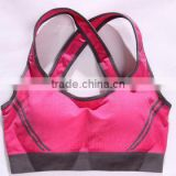 Athletic apparel manufacturer Wholesale women's sexy sports bras Yoga clothing body building