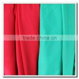 Wholesale durable in use breathable polyester dyed chiffon fabric
