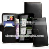 new model PU leather flip phone case for BlackBerry Z10 BB, cover for blackberry q10 make in china