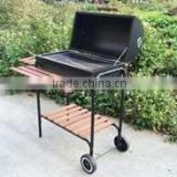 Outdoor Grill BBQ / Barbecue Barrel Grill 0.7mm thickness