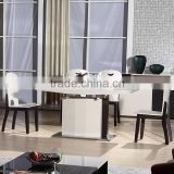 2015 latest modern dining table designs/ banquet table cloth/ dining table set for sale