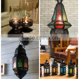 DK!! ELEGANT METALLIC STAINLESS STEEL CANDLE HOLDER LANTERN MODERN HOME DECOR @@ metal tealight candle & iron candle lantern led