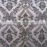 Polyester or polyester/cotton blended jacquard fabric for window curtain table cloth and banquet table napkin