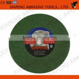 "14"" inch Black , green , red China cutting wheel , cut off disc for stainless steel , steel , metal , marble"