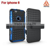 For iPhone 6 Case Slim For iPhone 6 Plus Back Cover Armor Case, For iPhone 6 3 in 1 Tough Hard Armor Case