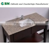 Kashmir Gold Granite Bathroom Vanity Top