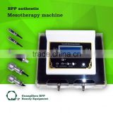 4 in 1 Mesotherapy Beauty Machine Ultrasonic Cold Hammer Facial Massage Skin Mesoporation