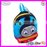 B591 New Cute Blue Thomas Train School Backpack Bags Plush Backpack Thomas and Friends