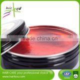 Hair Edge Control Wax, Personal Label Surper Hold High Shiny Pomade, Water Soluble Hair Styling Wax