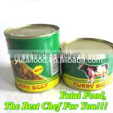 Sell Halal Food Canned Curry Beef
