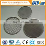 hot sale good quality food grade Filter disc stainless steel wedge wire screen panel