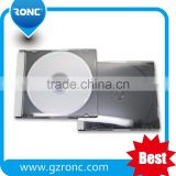 10.4mm Single Double CD Jewel Case With Black Tray