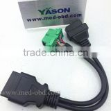 Gps Tracker Vehicle OBD2 Y Cable, Peugeot/Citroen Diagnostic Cable