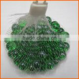 High quality green glass marble ball