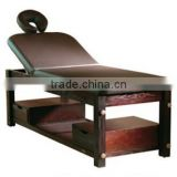 Multifunctional and manual backrest Beauty bed wholesale massage tables in wood portable salon furniture DS-H3331 (DAY SPA)