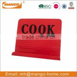 Colorful Powder Coating Metal Kitchen Cook Book Holder