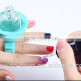 Popular soft silicone nail art tools finger cots holder