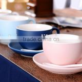 cheap customized creative gift cup , porcelain coffee cup with saucer, decorative coffee mugs