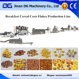 Automatic twin screw extruder for making frosted corn flakes breakfast cereal snack food