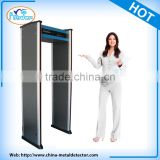 Portable Walk through Metal Detector Security Gate Supermarket Clothing Security Sensors PD-6500I