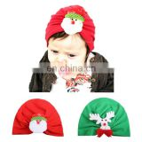 Christmas baby hair ornaments Christmas Carnival Dress Up Child Cartoon Pattern Hat