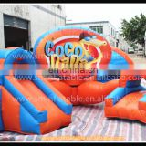 Backyard Funny inflatable mini kid playground,small jumping games,amusement park bouncy for kid