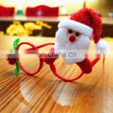 Wholesale Christmas Ornaments Glasses Frames Decor Evening Party Toy for Kids Adult Dog Pet Rabbit Gifts