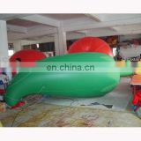 Inflatable helium pepper/green pepper replica/PVC pepper