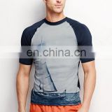 Wholesale compression shirts custom rash guard