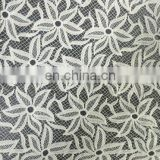 milky yarn chemical lace fabric
