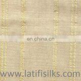 SILK FABRIC YELLOW AND CREAM