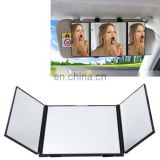 SHUNWEI Car Sun Visor Adjustable Mirror Car Makeup Sun-shading Vehicle Mounted Cosmetic Mirror Folding Vanity Mirror