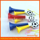 promotional plastic football vuvuzela
