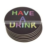 for bar hotel custom blank placemat round paper placemats