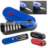pocket rotation screw set tool with 8 inner changeable bits