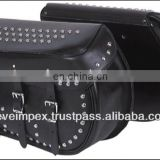 Top quality Motorcycle Leather Saddle bag custom motorcycle bag Saddle bag 2017