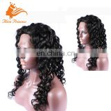 Highest Quality New Type 100% Virgin Human Hair Glueless Silk Top Full Lace Wig