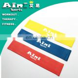 3 levels Set 100% Latex crossfit power resistance band workout loop band