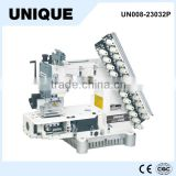 UNIQUE sewing machine UN008-23032P 12-needle with 23-needle gauge set double chain circular sewing machine
