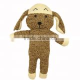 Soft knitted bunny toys
