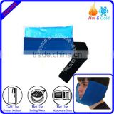 Medical gel cold hot pack with cover for jaw and face