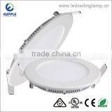 China Wholesale Factory Price Led Panel Light Round Ultra Slim Led Panel Light With Tuv Listed Led Round Panel Light