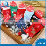 2016 Hot Customized elk Snowflake pattern Christmas socks gift set series for gift                                                                         Quality Choice